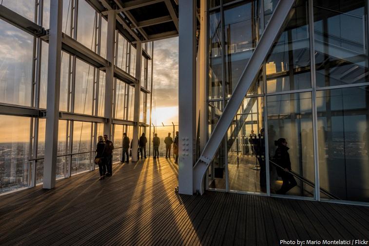the shard observation deck