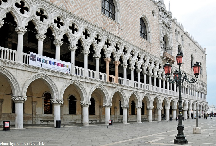 doge's palace facade