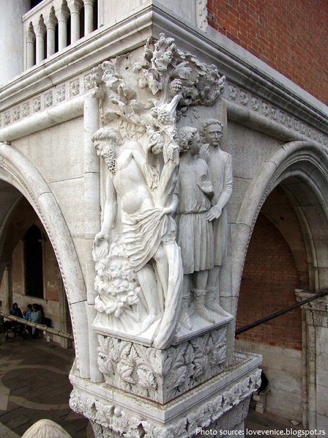 doge's palace sculptures