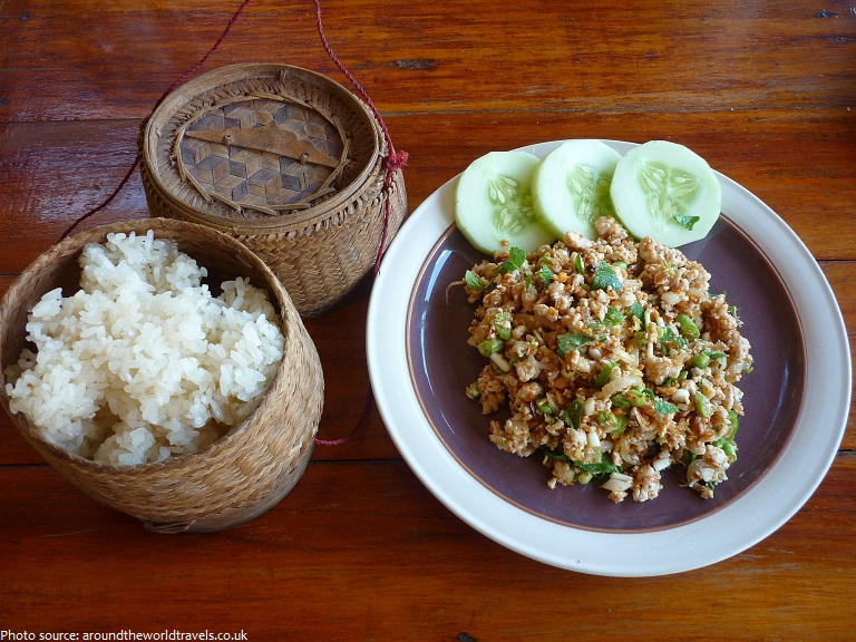 food in laos