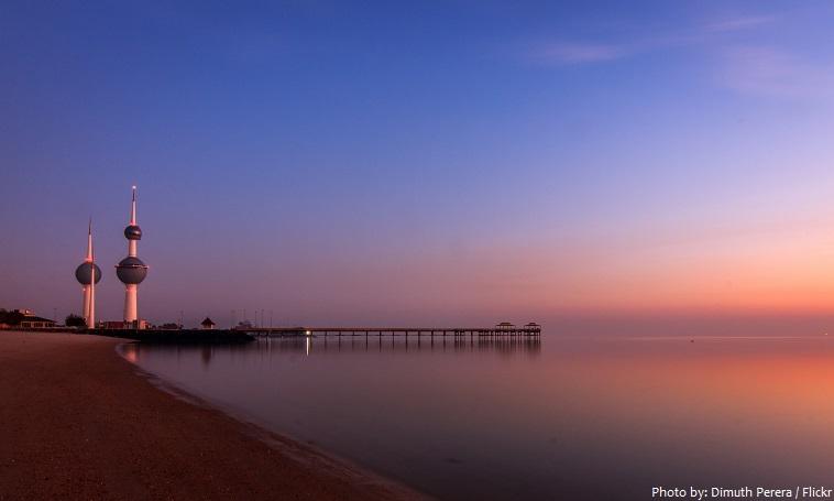 kuwait coastline