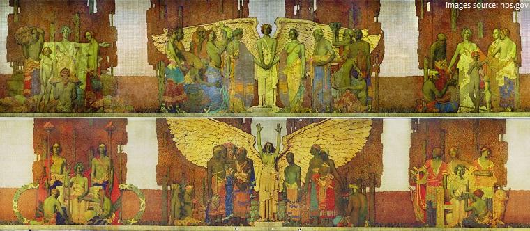 lincoln memorial murals