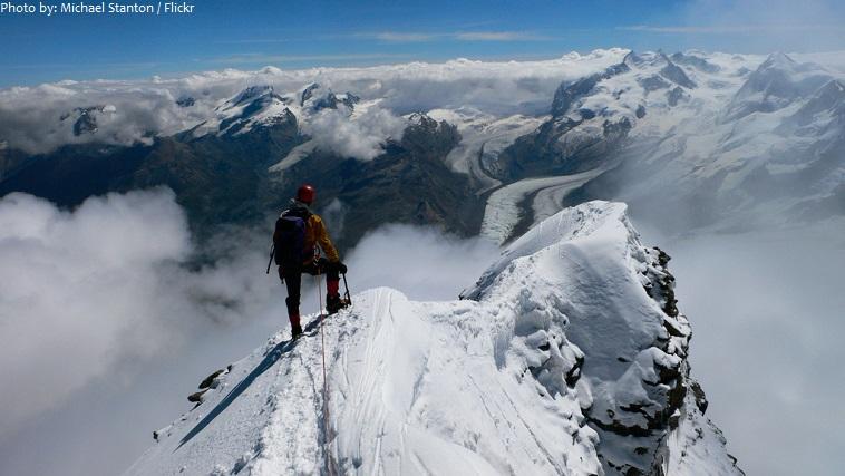 matterhorn climber