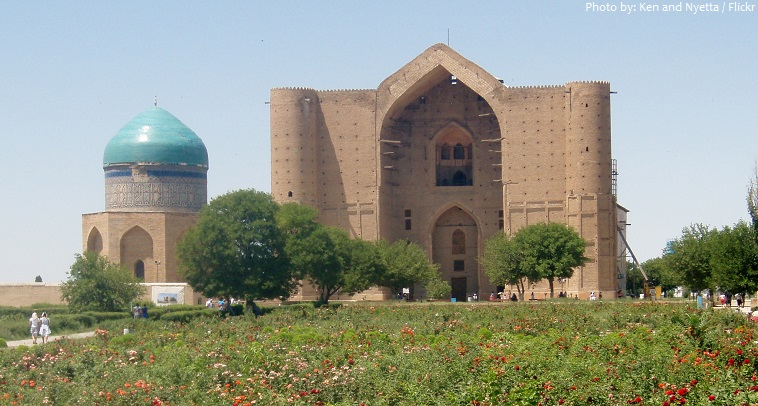 mausoleum of khawaja ahmed yasawi