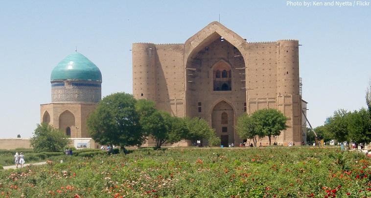 mausoleum of khawaja ahmed yasawi