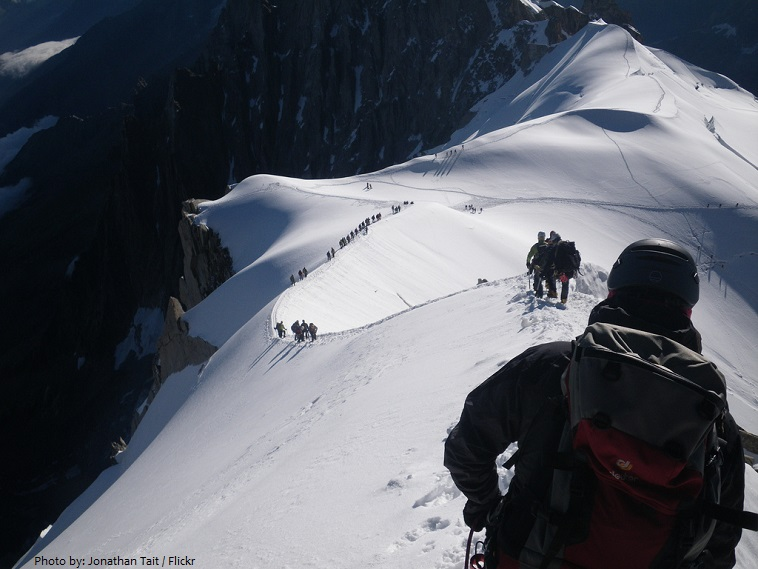 mont blanc expedition