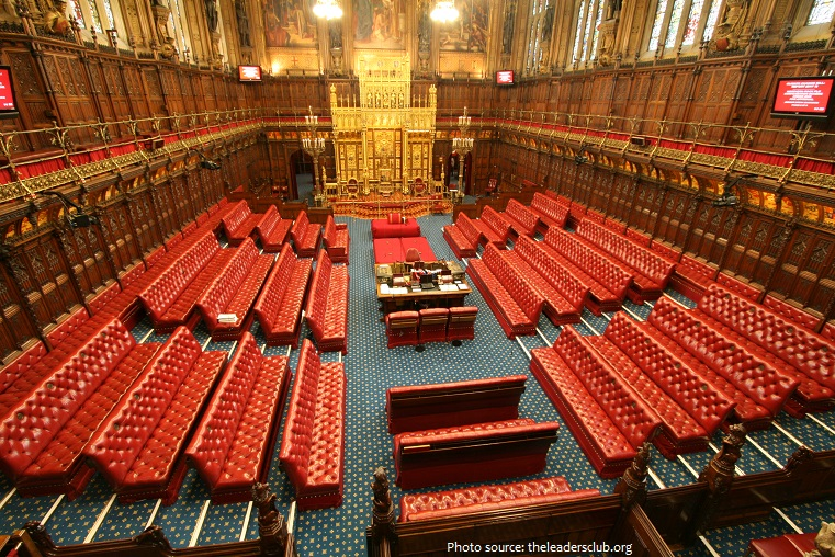 palace of westminster lords chamber