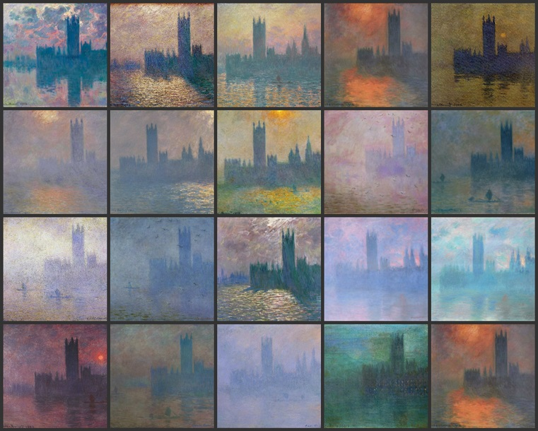 palace of westminster monet
