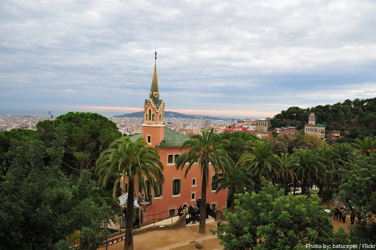 park guell gaudi's house