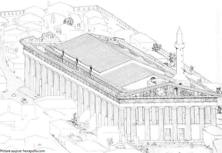 parthenon mosque
