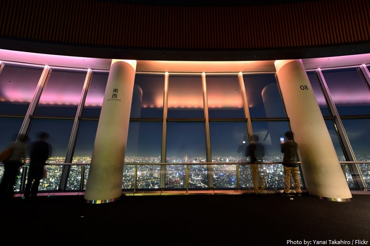 tokyo skytree observation deck 350 meters