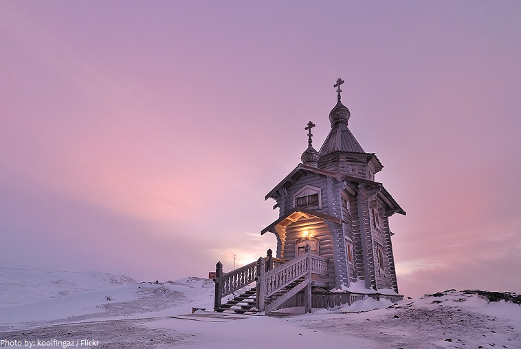 antarctica church