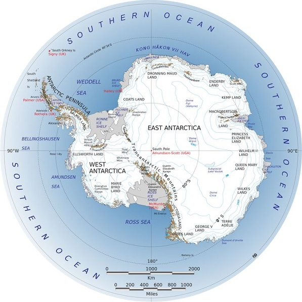 Interesting Facts About Antarctica Just Fun Facts - Two longest rivers in the world
