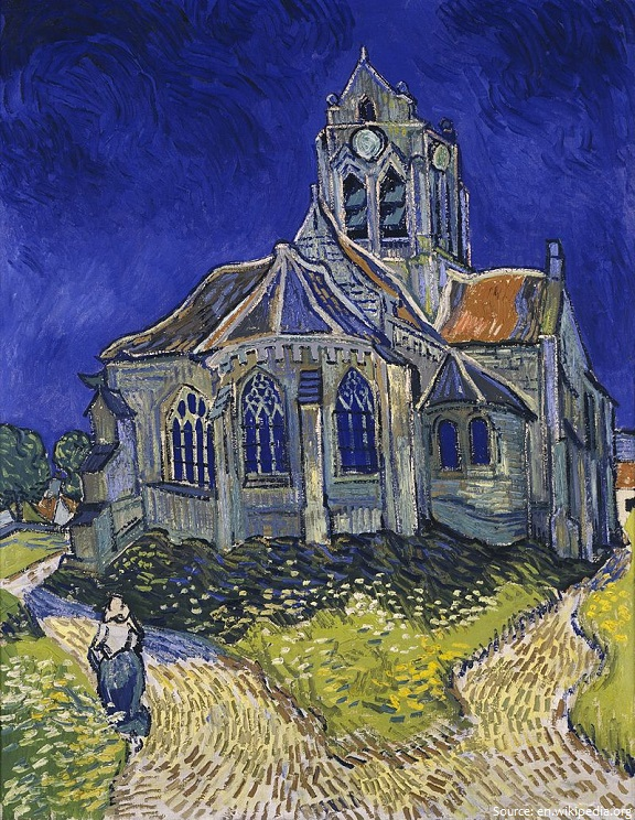 church at auvers vincent van gogh