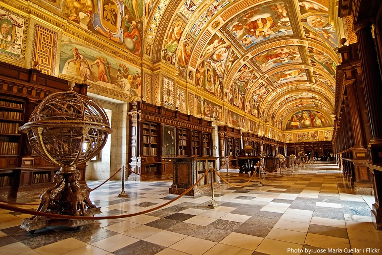 el escorial library
