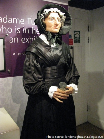 madame tussaud self portrait