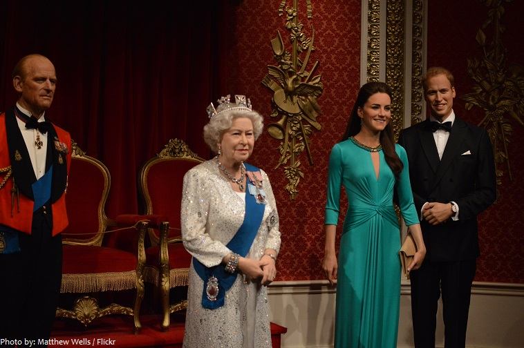 madame tussauds royal figures