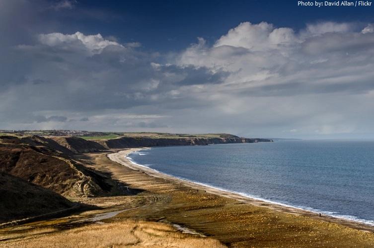 north sea coastline