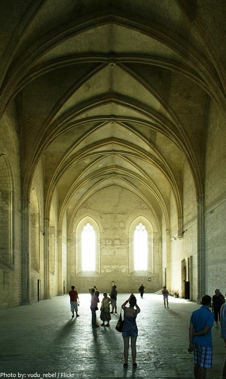 palais des papes grand chapel