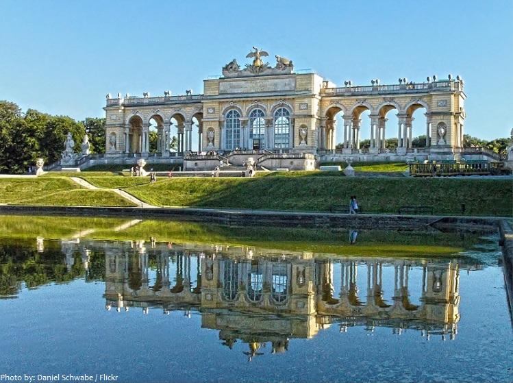 schönbrunn palace gloriette