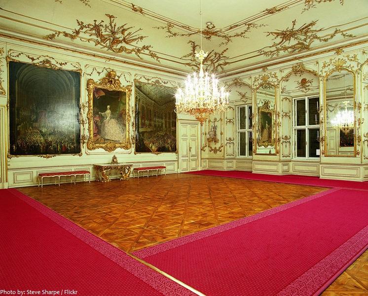 schönbrunn palace hall of ceremonies