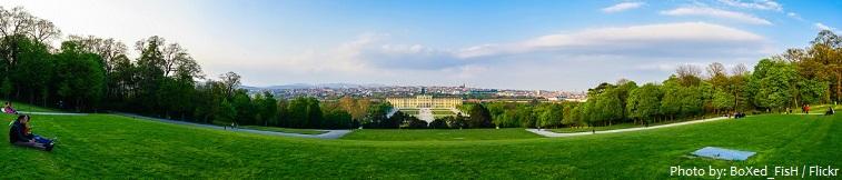 schönbrunn palace park