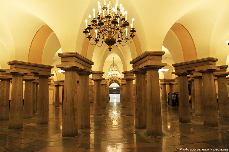 united states capitol crypt
