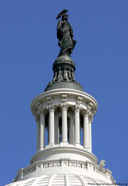 united states capitol statue of freedom