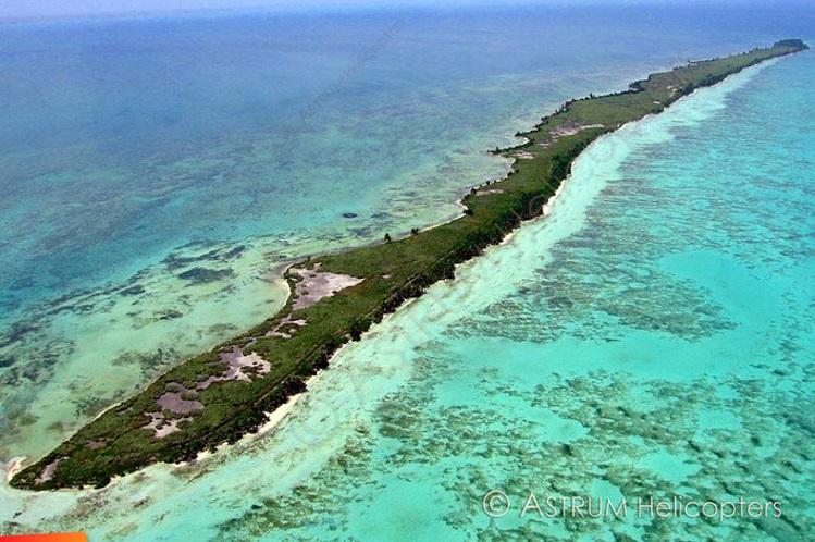Leonardo DiCaprio island