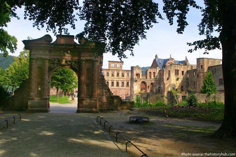 heidelberg castle elizabeth gate