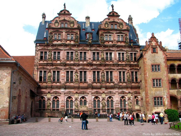 heidelberg castle friedrich building