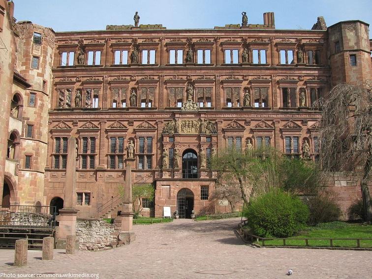 heidelberg castle ottheinrich building