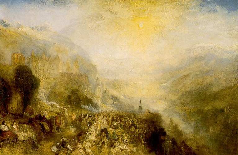 heidelberg castle william turner
