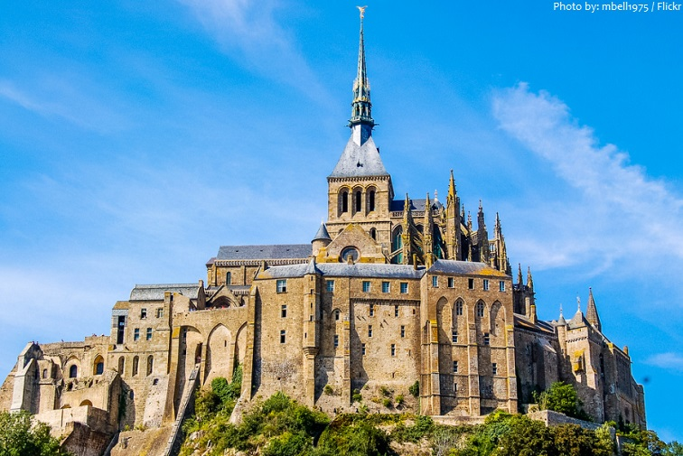 mont saint michel church