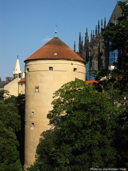 prague castle white tower