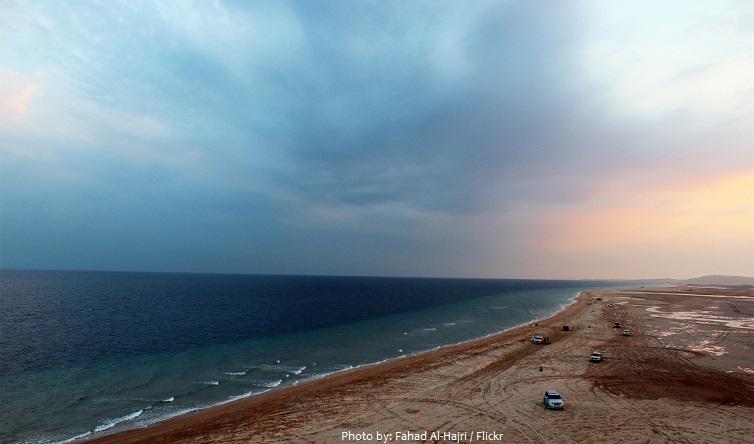 qatar coastline