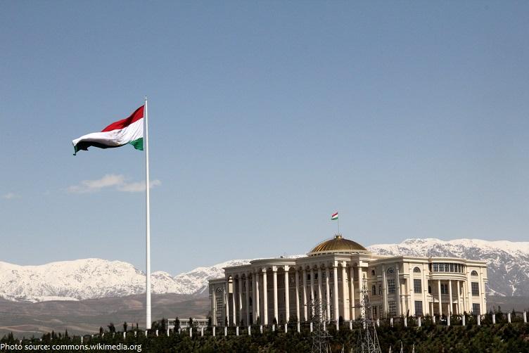 flagpole tajikistan