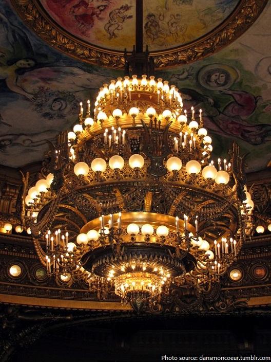 palais garnier chandelier