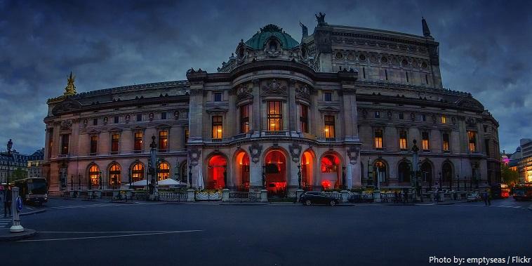 palais garnier east facade
