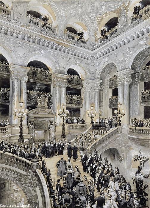 palais garnier inauguration