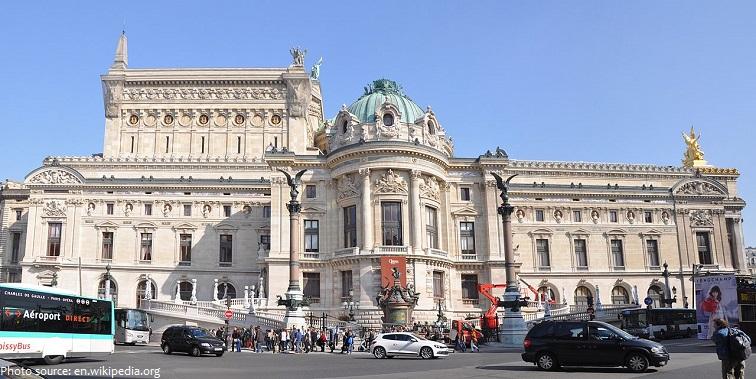 palais garnier west facade