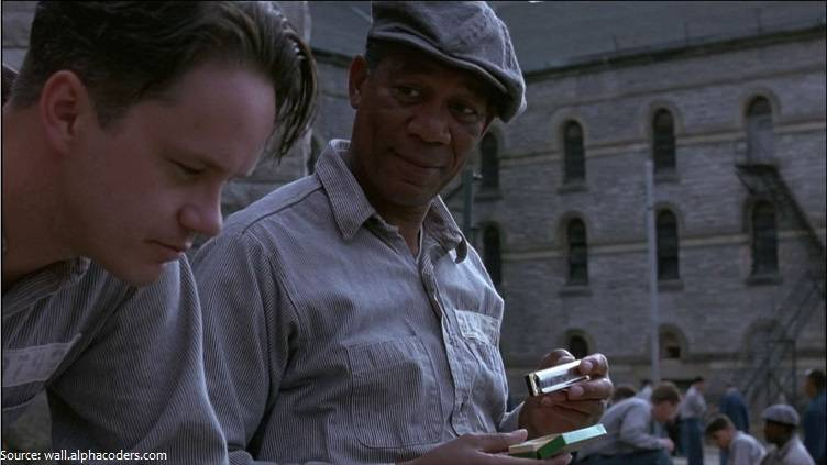 shawshank redemption morgan freeman