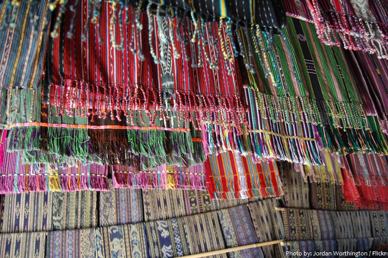 tais market in dili
