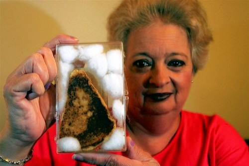 grilled-toast that-seemed-to-have-an-image-of-Virgin-Mary-on-it