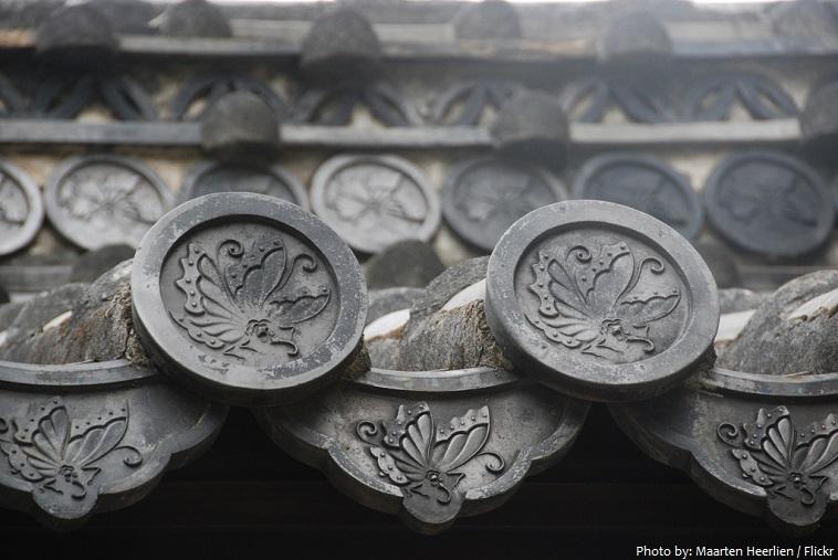 himeji castle family crests