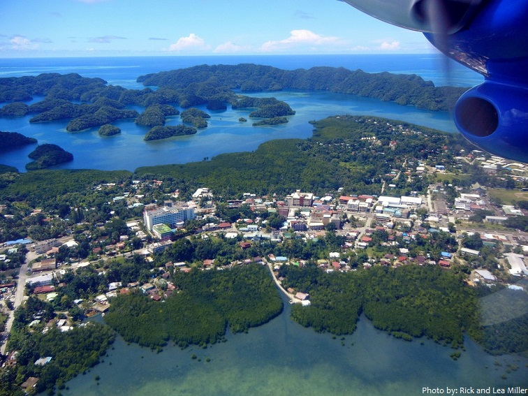 koror island