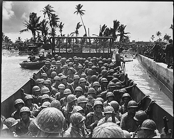 marshall islands WW2