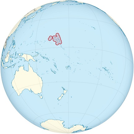 marshall islands world map