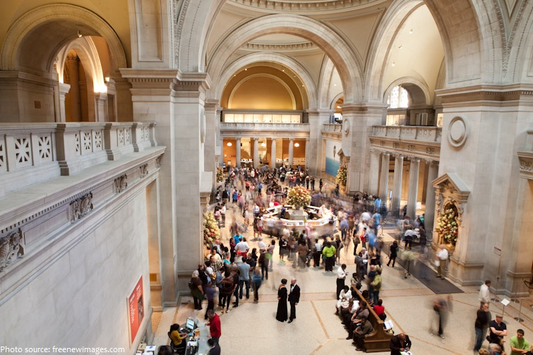 metropolitan museum of art inside