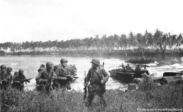 papua new guinea WWII